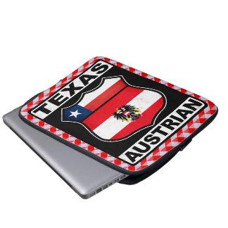 Texas Austrian American Laptop Case