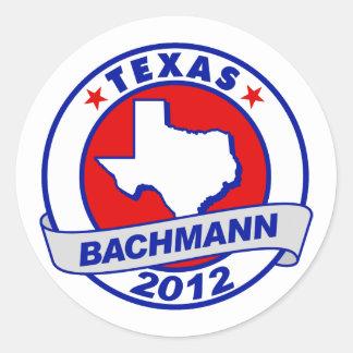 Texas Bachmann Stickers