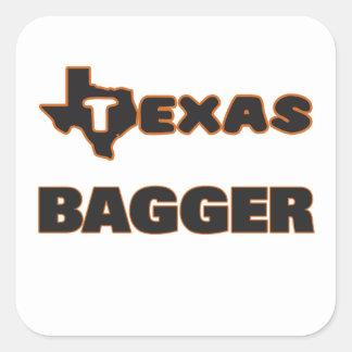 Texas Bagger Square Sticker