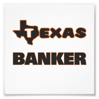 Texas Banker Photo Print