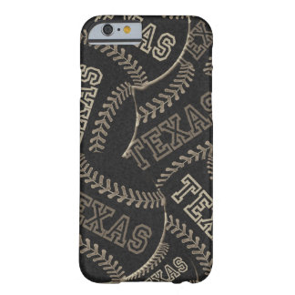 Texas Baseball Collage Barely There iPhone 6 Case