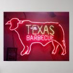 """Texas BBQ"" Print"