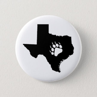 Texas Bear 6 Cm Round Badge