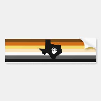Texas Bear Bumper Sticker