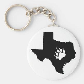 Texas Bear Key Ring