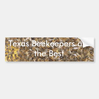 Texas Beekeepers are the Best Bumper Sticker