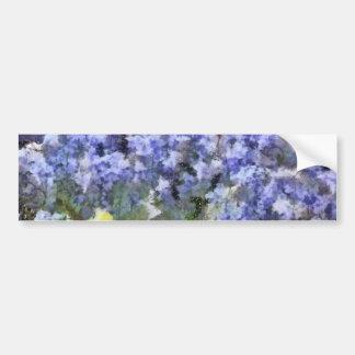 Texas Bluebells Bumper Sticker