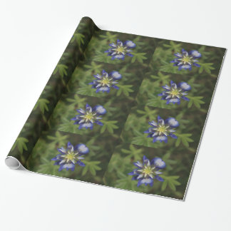 Texas Bluebonnet Wrapping Paper
