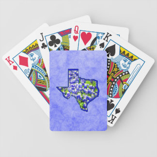 TEXAS BLUEBONNETS BICYCLE PLAYING CARDS
