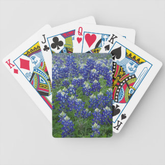 Texas Bluebonnets Field Photo Poker Deck