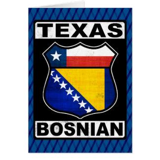 Texas Bosnian American Card