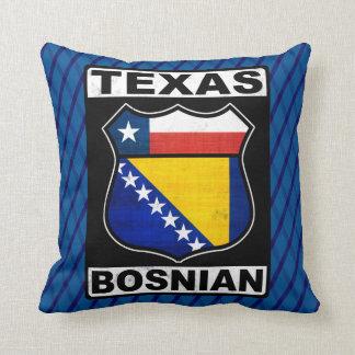 Texas Bosnian American Sign Cushion
