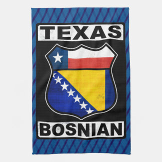 Texas Bosnian American Sign Towel