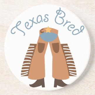 Texas Bred Beverage Coasters