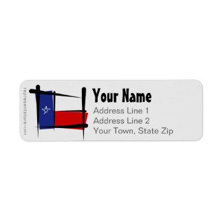 Texas Brush Flag