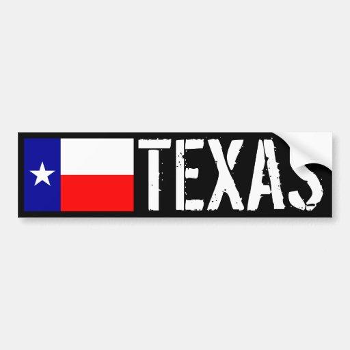 Texas Bumper Stickers