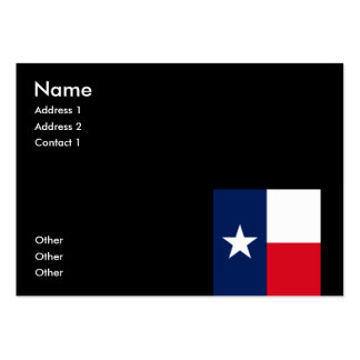 TEXAS BUSINESS CARD TEMPLATE
