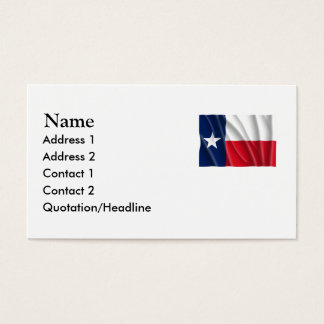 TEXAS BUSINESS CARD