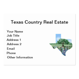 Texas Business Card
