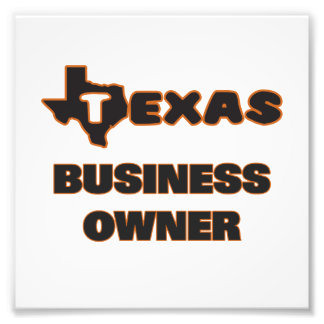 Texas Business Owner Art Photo