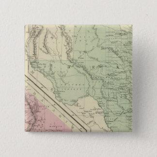 Texas, California 15 Cm Square Badge