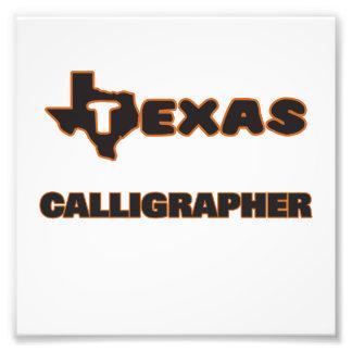 Texas Calligrapher Photo Art