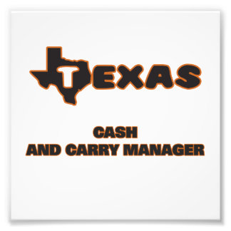 Texas Cash And Carry Manager Photo Print