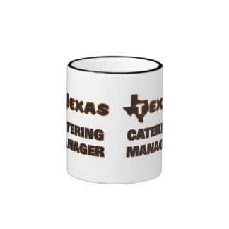 Texas Catering Manager Ringer Coffee Mug