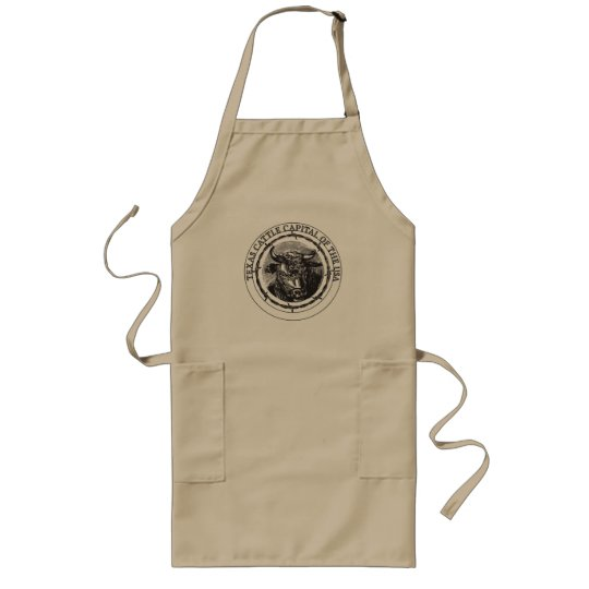 Texas Cattle Capital of the USA apron