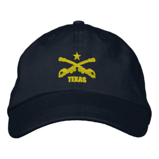 Texas Cavalry (Embroidered) Embroidered Baseball Cap
