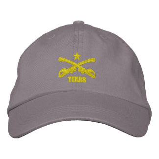 Texas Cavalry (Embroidered) Embroidered Cap