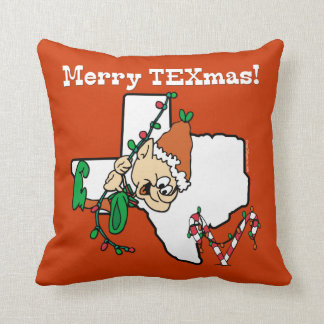 Texas Christmas Cushion