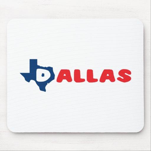 Texas Cites Dallas Mousepad