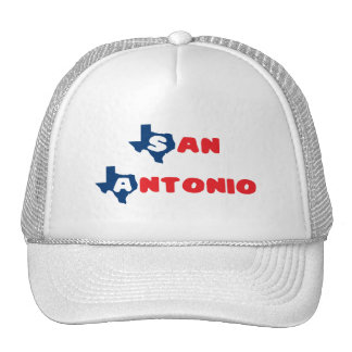 Texas Cites San Antonio Hats