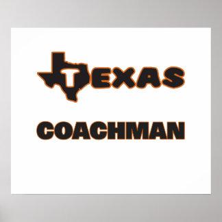 Texas Coachman Poster