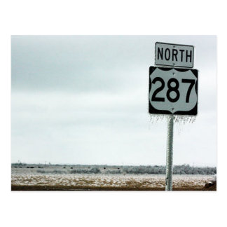 Texas Cold Postcard
