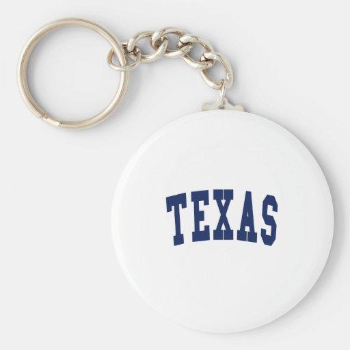 Texas College Key Chains