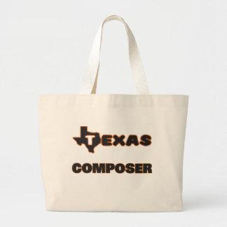 Texas Composer Jumbo Tote Bag