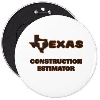 Texas Construction Estimator 6 Cm Round Badge