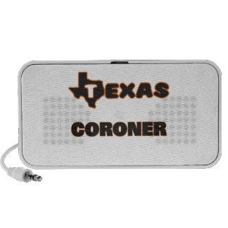 Texas Coroner iPod Speaker