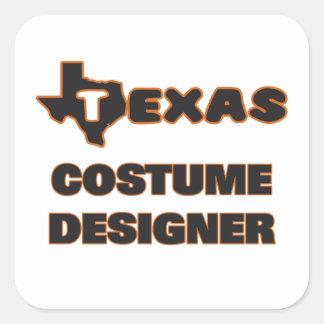 Texas Costume Designer Square Sticker