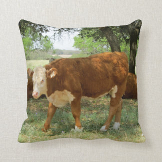 Texas Cow Cushion