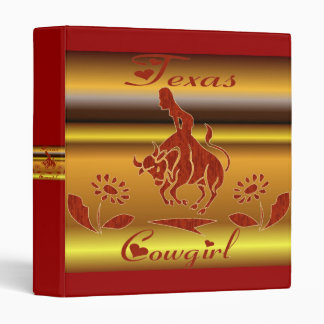 TEXAS COWGIRL BINDER