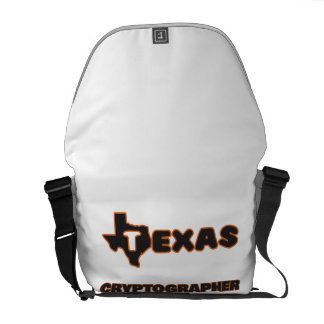 Texas Cryptographer Courier Bags