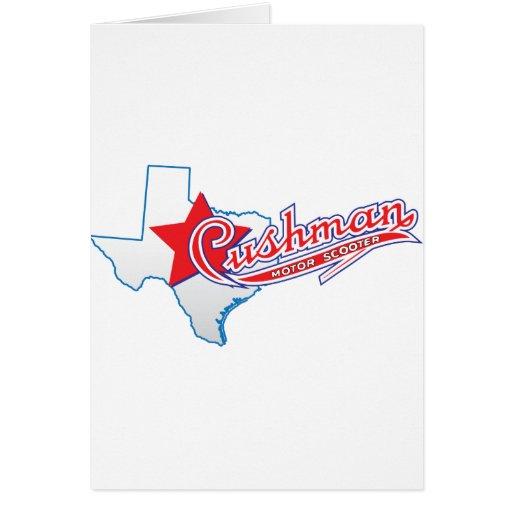 Texas Cushman Club Designs Card