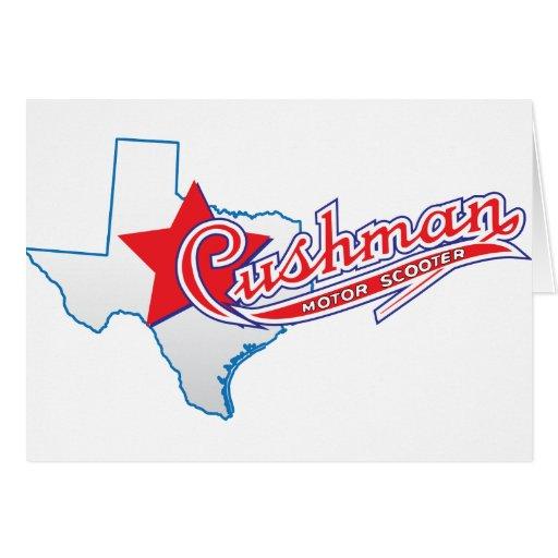 Texas Cushman Club Designs Greeting Cards
