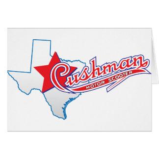 Texas Cushman Club Designs Greeting Card