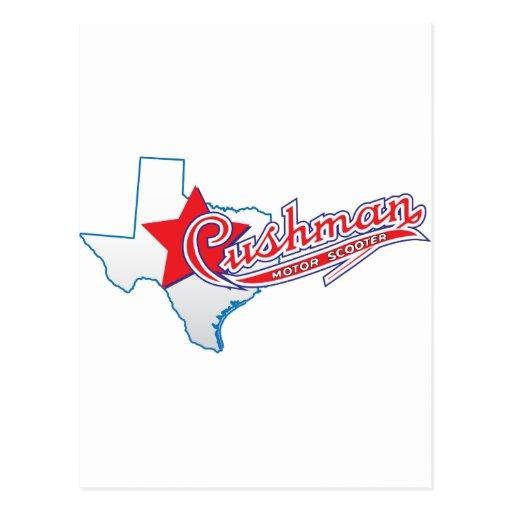 Texas Cushman Club Designs Postcards
