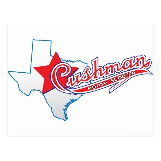 Texas Cushman Club Designs Post Card