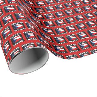 Texas Czech American Gift Wrap
